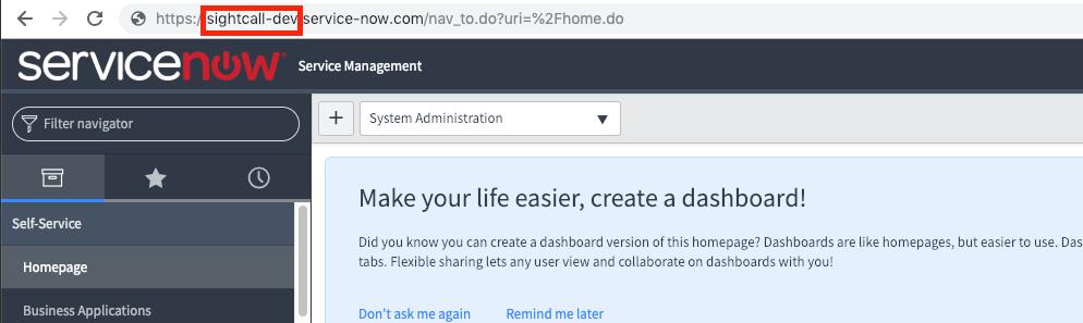 servicenow domain